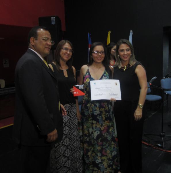 María Isabel Mejia Homenaje Autores Vallecaucanos