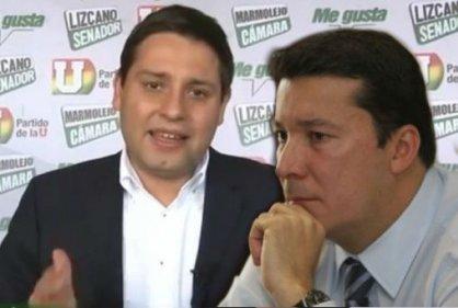Mauricio Lizcano y Hernán Penagos