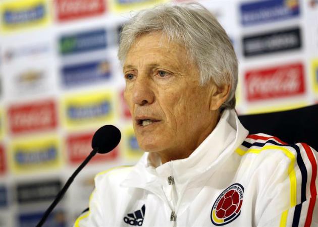 José Pékerman, entrenador de la Selección Colombia13