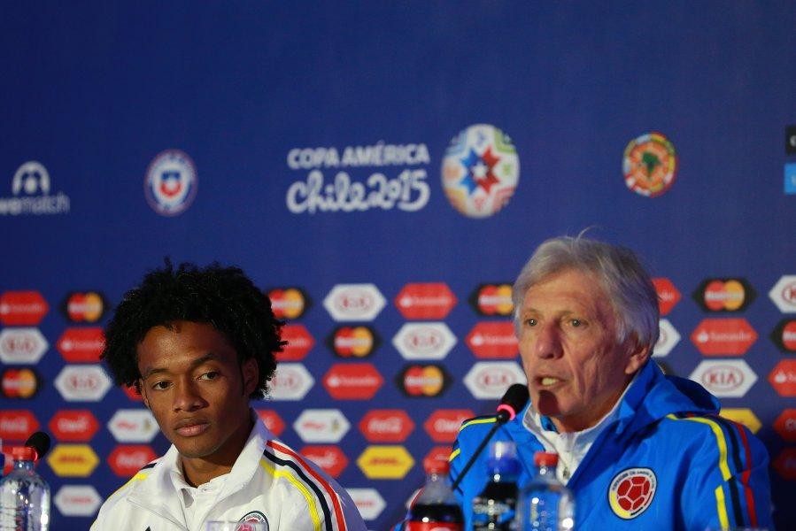 Jose Pekerman entrenador de la seleccion copa america