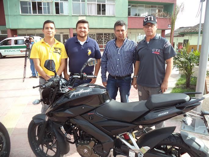 Motocicletas al CTI