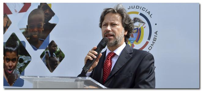 Néstor Raúl Correa Henao, magistrado de la Sala Administrativa del Consejo Superior de la Judicatura