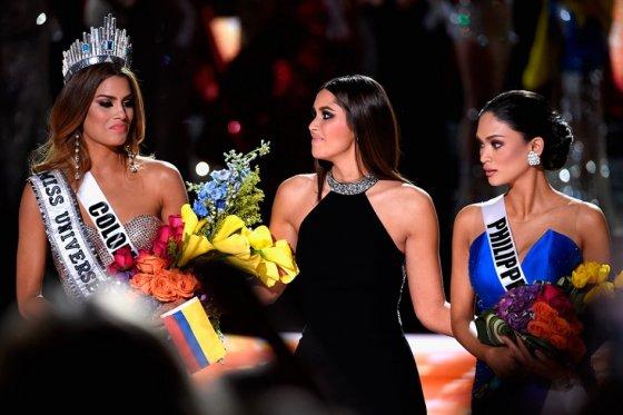 Colombia miss universo por dos minutos