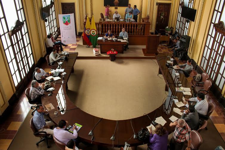 Concejo de Manizales dic 21 de 015