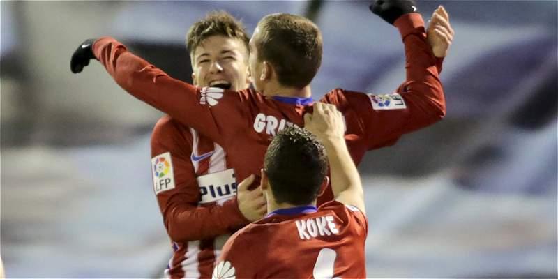 Atlético de Madrid venció 0-2 a Celta