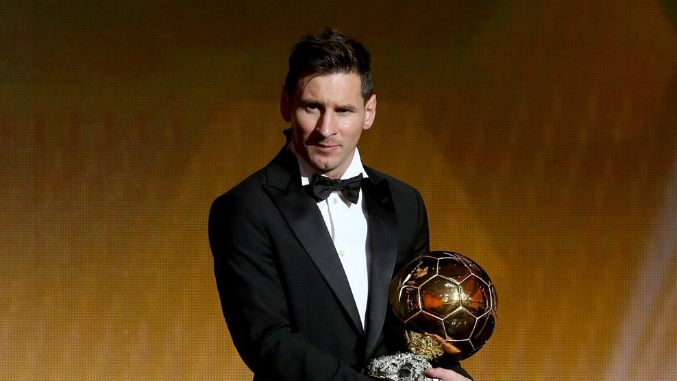 Lionel Messi balonde oro 2015