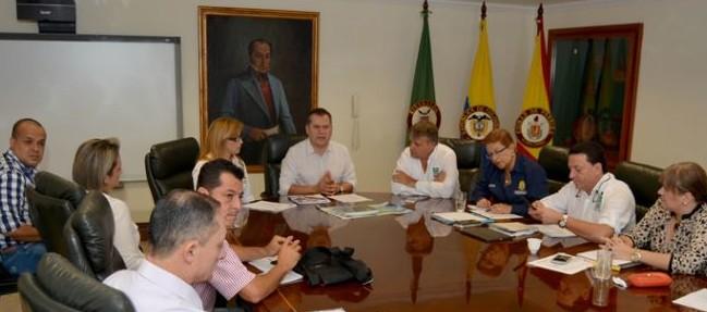 gobernador de risaralda preside reunión por fenómeo del Niño