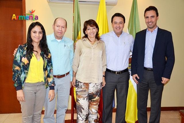 Alcalde de armenia y gerente de epm