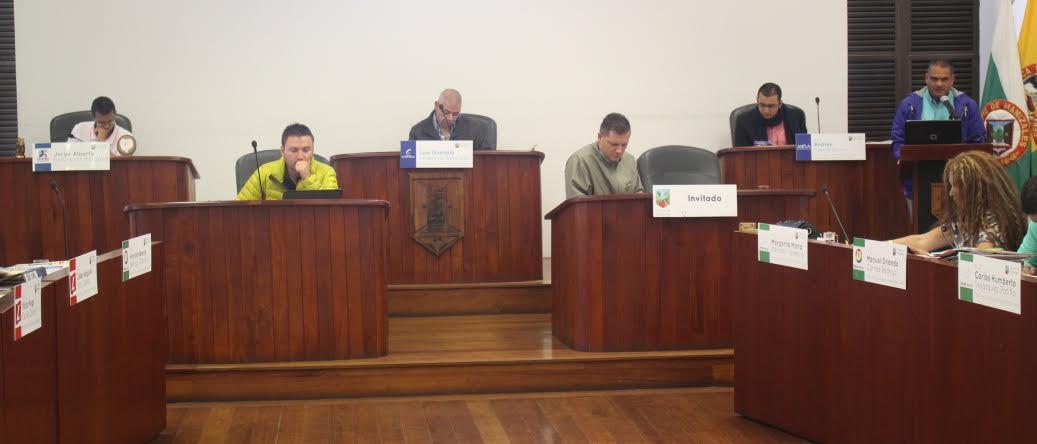 Concejo de Manizales febrero 21 de 016