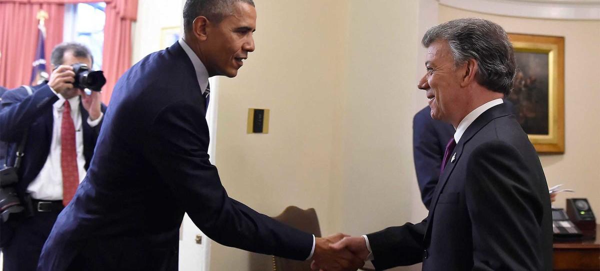 Los presidentes de Colombia y Estados Unidos se reunieron este jueves en el Salón Oval de la Casa Blanca en un día histórico para relaciones bilaterales