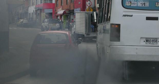 Aire contaminado en Manizales