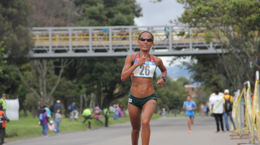 Kelly Arias, atleta colombiana