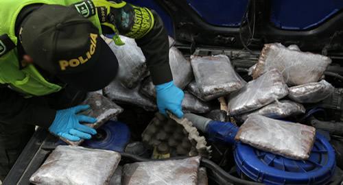 Marihuana decomisada en Manizales