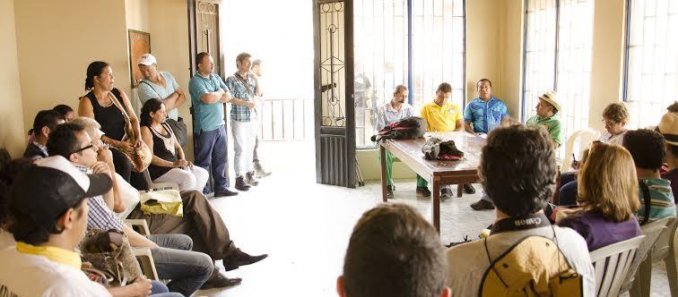 Marmato minas lideres sindicales