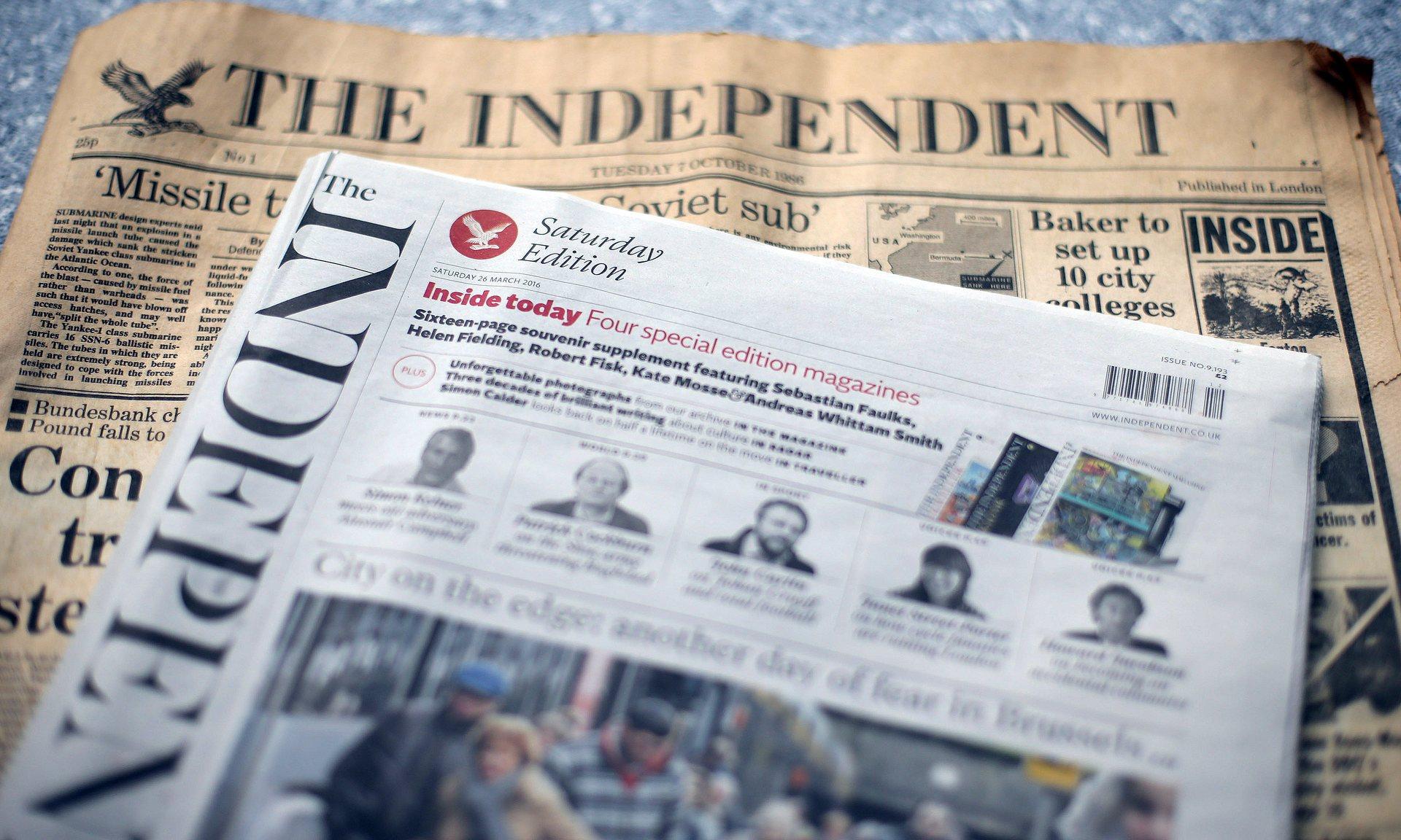 diario británico 'The Independent'