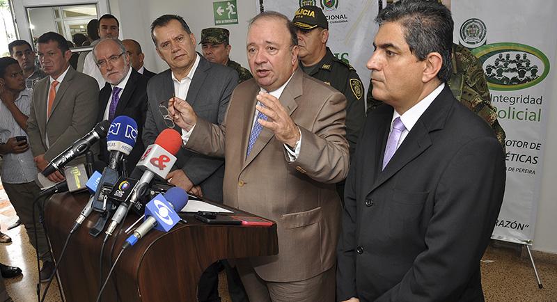 Luis Carlos Villegas en Pereira