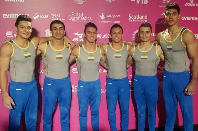 gimnasia delegacion colombiana