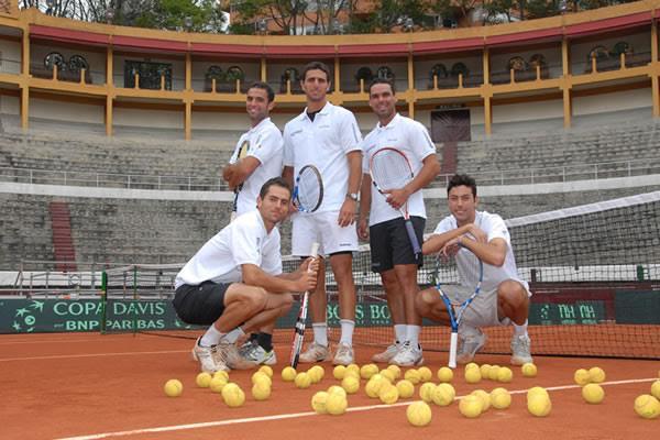 equipo de tenis: