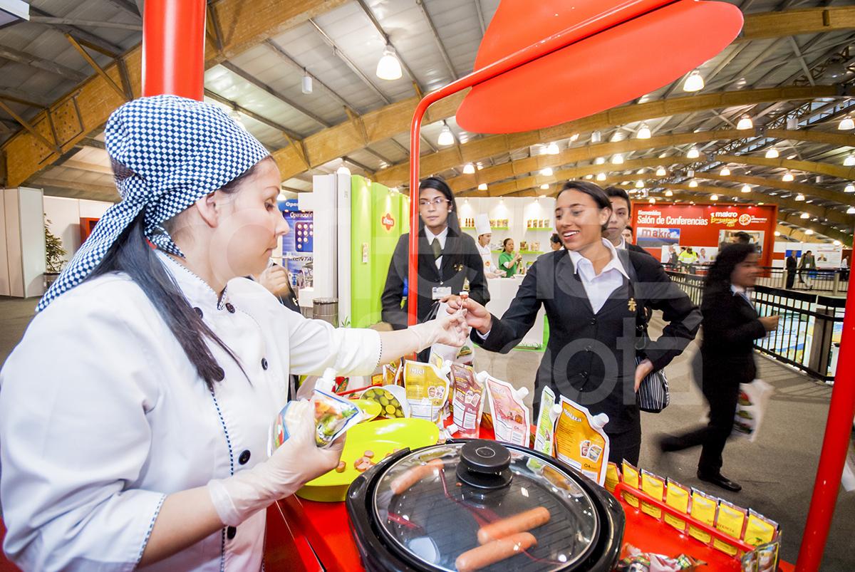 Feria Internacional de Alimentos foto dos