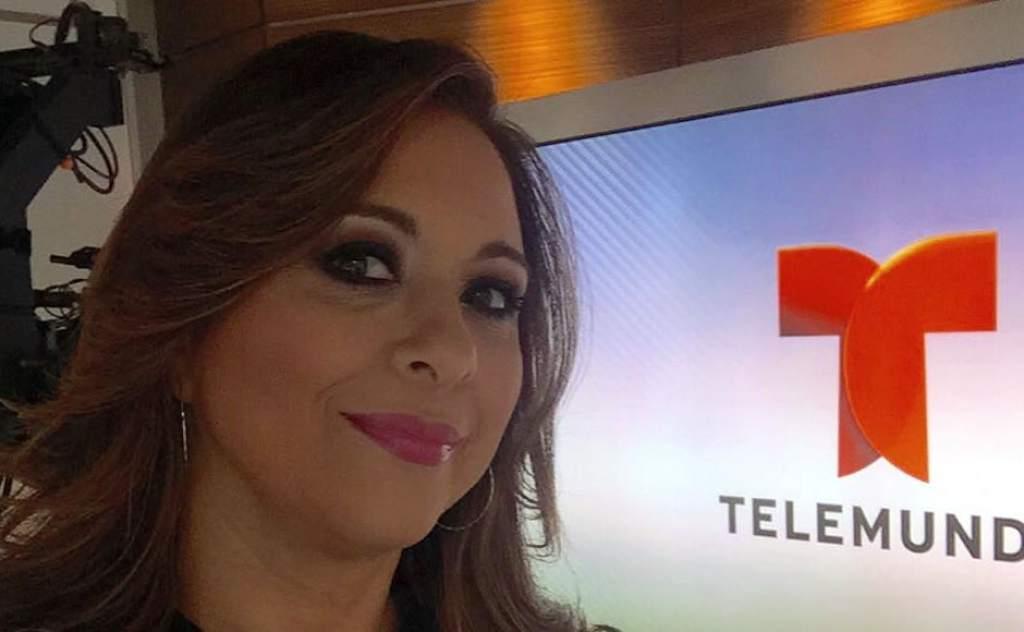 Neida Sandoval la prensa