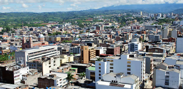 Pereira panoramica ciudad region