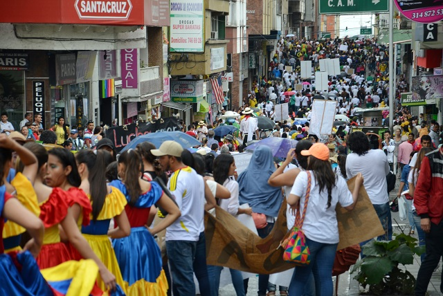 Armenia marcha carnaval foto cuatro