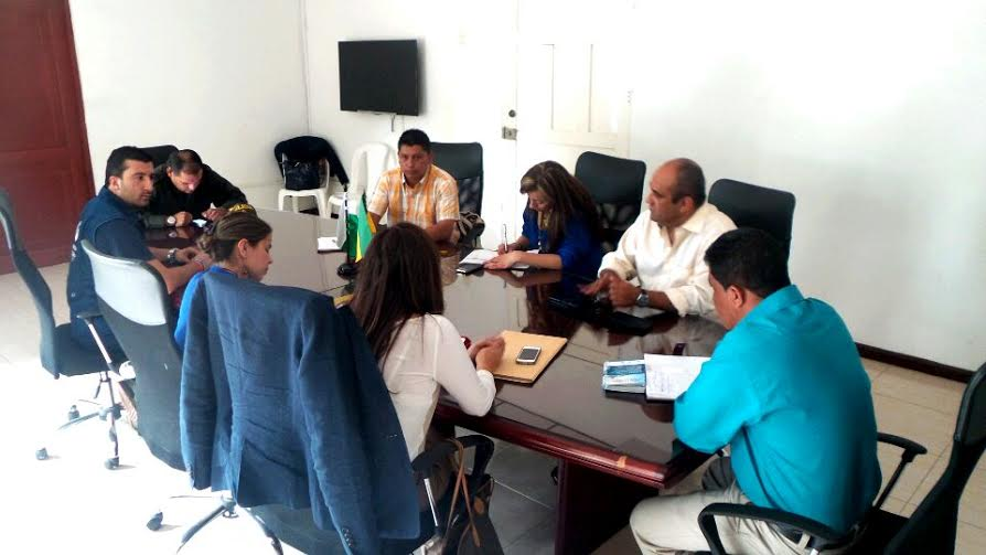 Minga Indigena delegacion presidencial