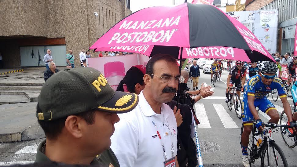 Rodolfo Palomino en la Vuelta a Colombia