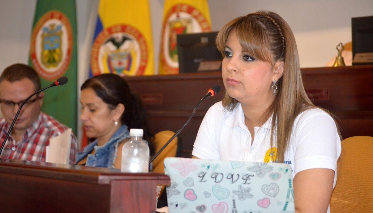 Sandra Lorena cardenas concejo de pereira