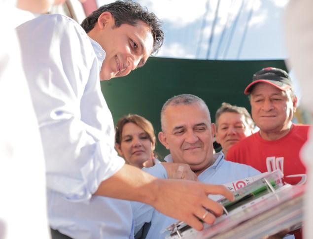 Pereira alcalde inauguro zona wifi en el oriente