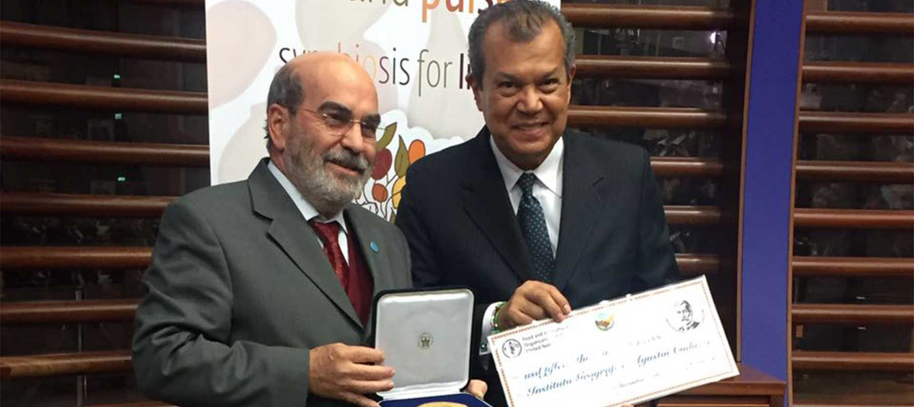 IGAC recibió Premio Mundial del Suelo por parte de la FAO