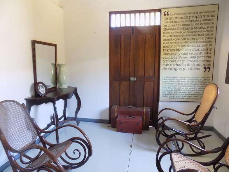 Una visita a la casa museo garc a m rquez eje21 for Casa garcia muebles