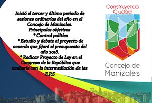 Concejo de Manizales (Octubre 2017)