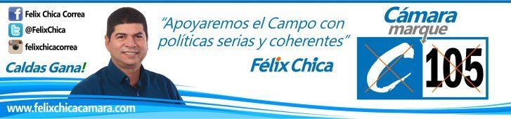 Felix Chica a la Cámara de Representantes