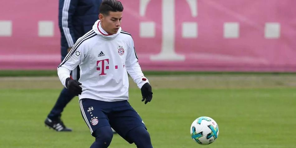 James vuelve a la titular del Bayern en la visita al Leipzig, al que ...