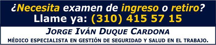 Jorge Iván Duque. Ingreso. Banner.