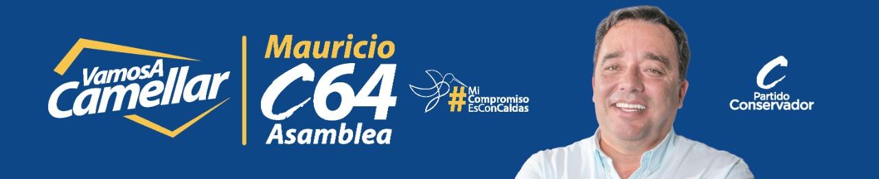 Mauricio Londoño. Banner político.