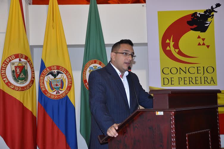 Julián Andrés Ospina Posada presidente concejo pereira
