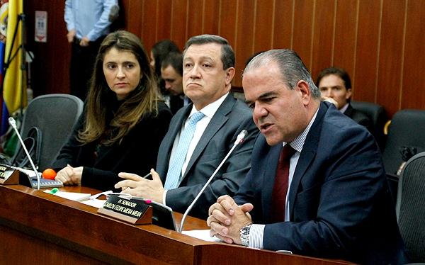 Carlos Felipe mejia comision quinta