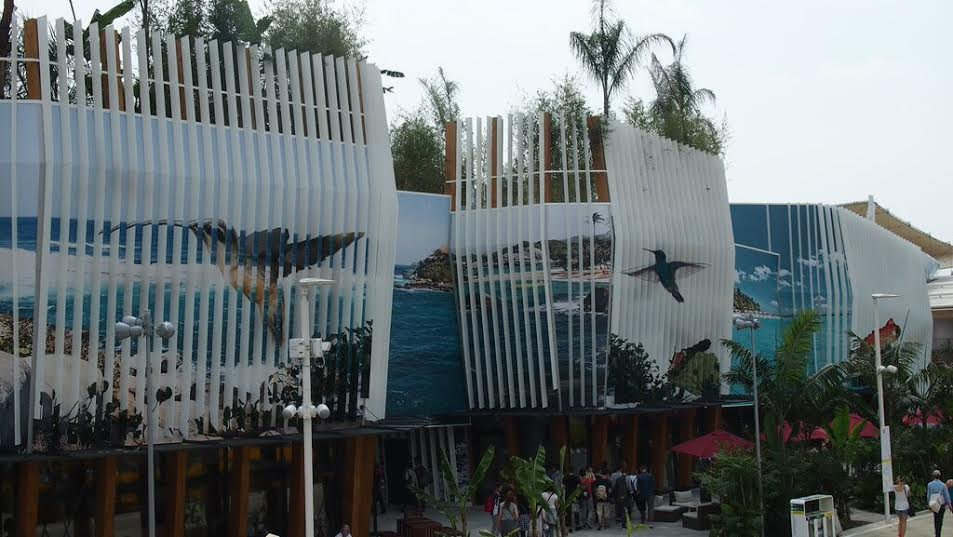 Expomilan arquitectura colombiana