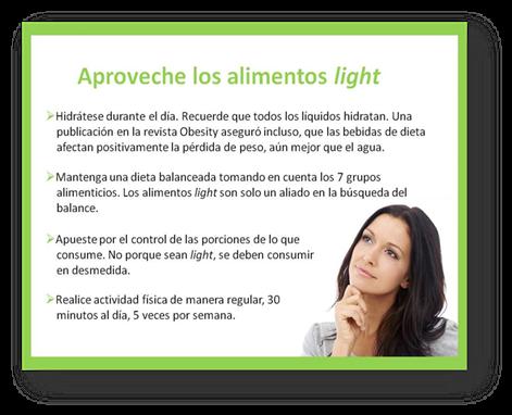 alimentos light consejos