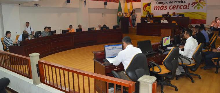 Concejo de Pereira inauguro sesiones 1 de octubre
