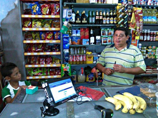 Internet en las tiendas de barrio