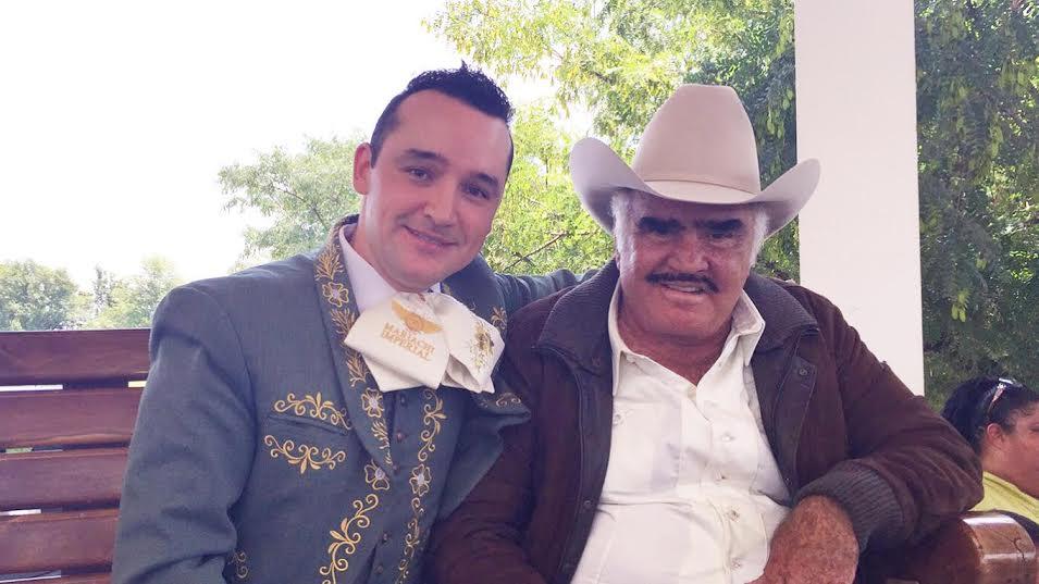 Juan Pablo Márquez y Vicente Fernández
