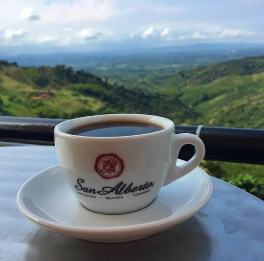 Buenavista quindio taza de cafe