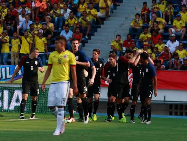 Selección C y la Sub-23 y Estados Unidos2