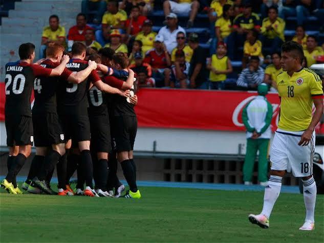 Selección la Sub-23 Empate 1-1 con la de Estados Unidos