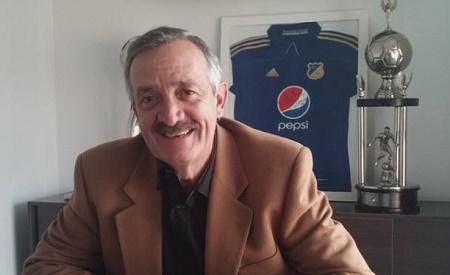 Enrique Camacho presidente Millonarios