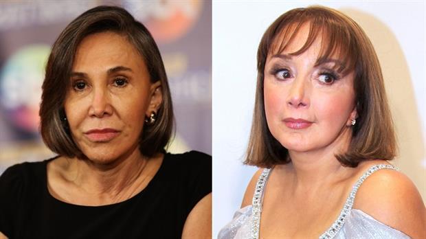 Florinda Meza y María Antonieta de las Nieves