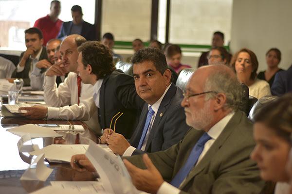 Gobernadores del eje cafetero en reunion de ocad